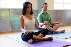 yoga classes hatha restorative meditation yin Divya London